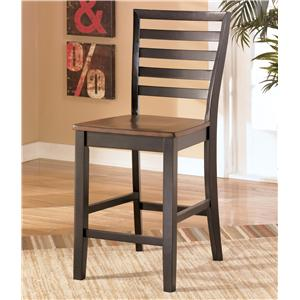 Signature Design by Ashley Furniture Alonzo 24 Inch Bar Stool