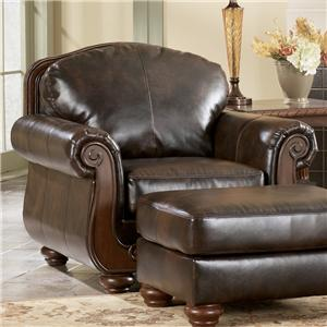 Signature Design by Ashley Barcelona - Antique Chair
