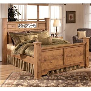 Signature Design by Ashley Bittersweet Queen Poster Bed