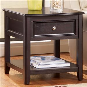 Signature Design by Ashley Furniture Carlyle Rectangular End Table