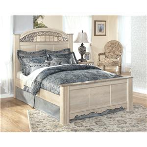 Signature Design by Ashley Catalina B196 Queen Poster Bed
