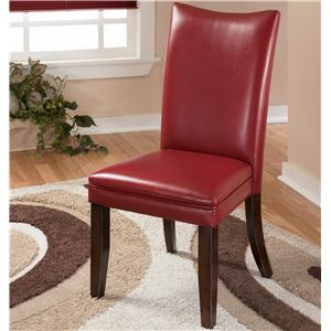 Signature Design by Ashley Furniture Charrell Red Side Chair