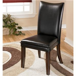 Signature Design by Ashley Furniture Charrell Black Side Chair