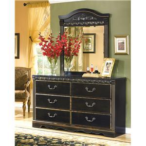 Signature Design by Ashley Furniture Coal Creek Dresser & Mirror