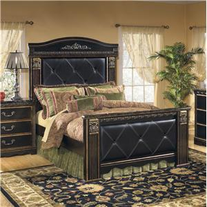 Signature Design by Ashley Furniture Coal Creek Queen Mansion Bed