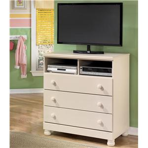 Signature Design by Ashley Cottage Retreat Media Chest