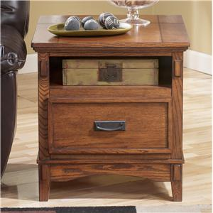Signature Design by Ashley Furniture Cross Island Rectangular End Table