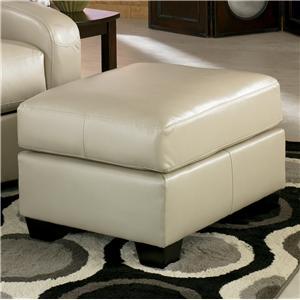 Signature Design by Ashley Furniture Devin DuraBlend - Sandstone Ottoman
