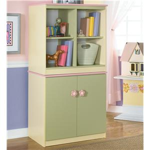 Signature Design by Ashley Doll House Loft Bin & Door Storage