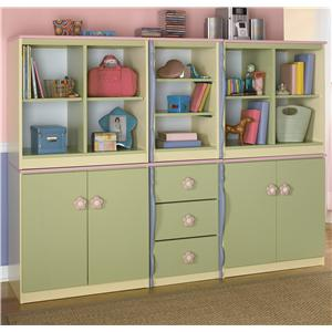 Signature Design by Ashley Doll House Modular Bookcase Unit