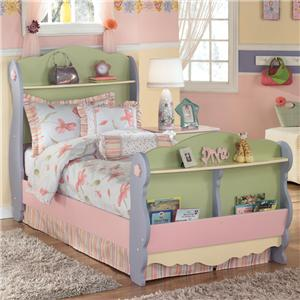 Signature Design by Ashley Doll House Twin Sleigh Bed