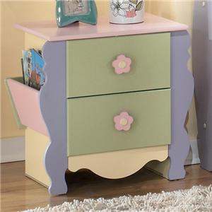 Signature Design by Ashley Doll House Magazine Night Stand
