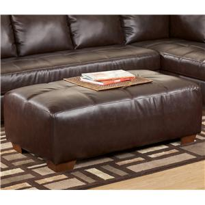 Signature Design by Ashley Furniture Fairplay DuraBlend® Oversized Accent Ottoman