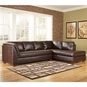 Signature Design by Ashley Furniture Fairplay DuraBlend® 2 Piece Sectional Group