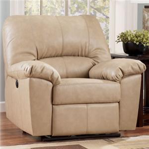 Signature Design by Ashley Furniture Fort Logan DuraBlend® - Natural Rocker Recliner