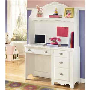 Signature Design by Ashley Furniture Exquisite Desk and Hutch
