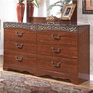 Signature Design by Ashley Furniture Fairbrooks Estate Dresser