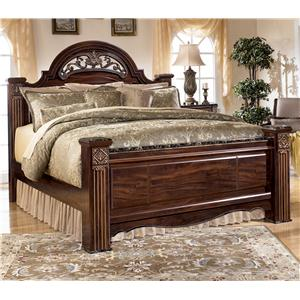 Signature Design by Ashley Furniture Gabriela Queen Poster Bed