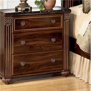 Signature Design by Ashley Furniture Gabriela 3-Drawer Night Stand