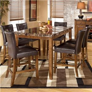 Signature Design by Ashley Lacey 7-Piece Table & Chairs Set