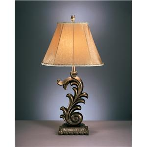 Signature Design by Ashley Lamps - Traditional Classics Set of 2 Eliza Table Lamps