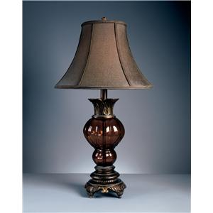 Signature Design by Ashley Lamps - Traditional Classics Set of 2 Donna Table Lamps