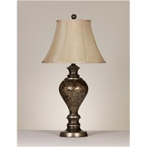 Signature Design by Ashley Lamps - Traditional Classics Set of 2 Nitzana Table Lamps