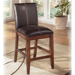 "Signature Design by Ashley Furniture Larchmont 24"" Uph Bar Stool"