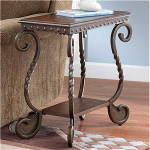 Signature Design by Ashley Furniture Rafferty  Chairside End Table