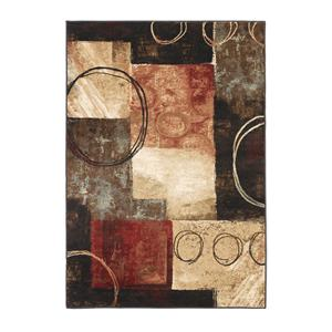 Signature Design by Ashley Contemporary Area Rugs Manhattan - Midnight Rug