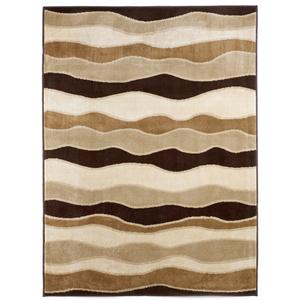 Signature Design by Ashley Furniture Contemporary Area Rugs Frequency - Toffee Rug