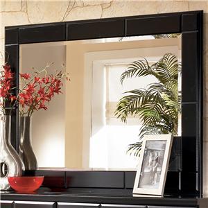 Signature Design by Ashley Furniture Shay Landscape Dresser Mirror