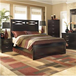 Signature Design by Ashley X-cess Queen Panel Bed
