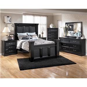 Signature Design by Ashley Furniture Cavallino Cavallino King Complete Bedroom