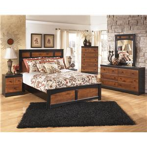 Signature Design by Ashley Furniture Aimwell Queen Bedroom Group