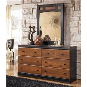 Signature Design by Ashley Furniture Aimwell Dresser & Mirror