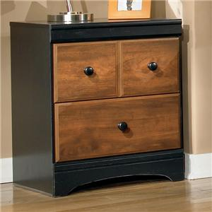 Signature Design by Ashley Furniture Aimwell Two Drawer Night Stand