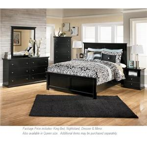 Signature Design by Ashley Maribel 4pc King Bedroom