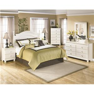 Signature Design by Ashley Cottage Retreat Queen/Full Bedroom Group