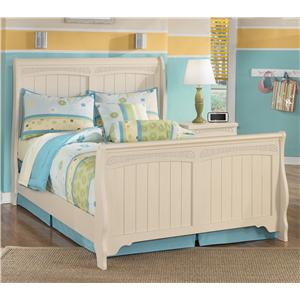 Signature Design by Ashley Cottage Retreat Full Sleigh Bed