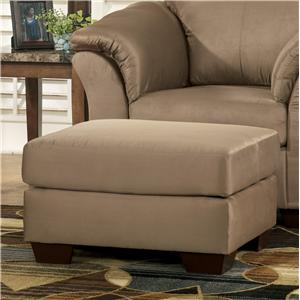 Signature Design by Ashley Furniture Darcy - Mocha Ottoman