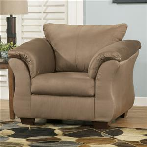 Signature Design by Ashley Furniture Darcy - Mocha Upholstered Chair