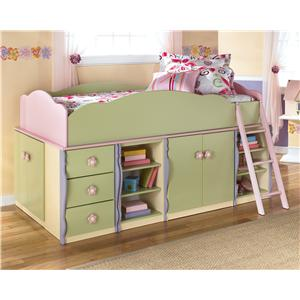Signature Design by Ashley Doll House Modular Loft Bed with Underbed Storage
