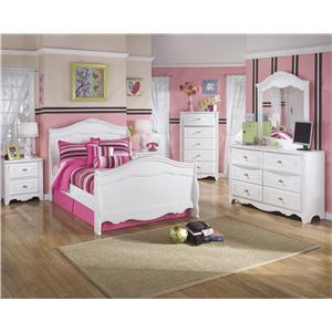 Signature Design by Ashley Furniture Exquisite Full Bedroom Group