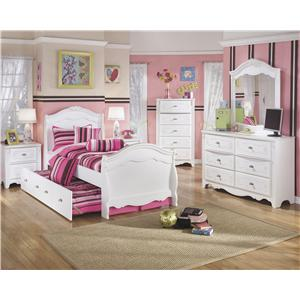 Signature Design by Ashley Furniture Exquisite Twin Bedroom Group