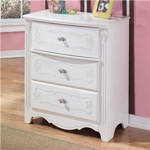 Signature Design by Ashley Furniture Exquisite 3-Drawer Chest