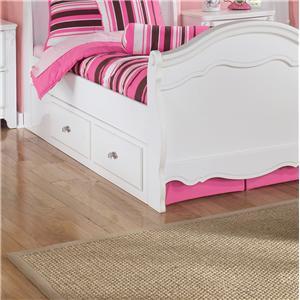 Signature Design by Ashley Furniture Exquisite Under Bed Storage