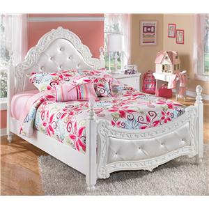 Signature Design by Ashley Furniture Exquisite Full Poster Bed