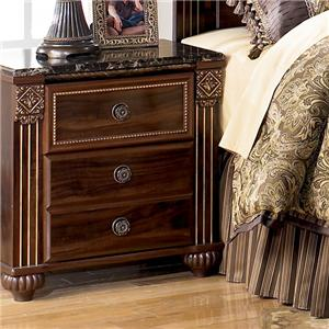 Signature Design by Ashley Furniture Gabriela Night Stand