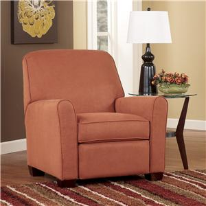 Signature Design by Ashley Gale - Russet Low Leg Recliner